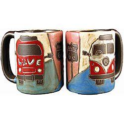 Handcrafted Van Mugs
