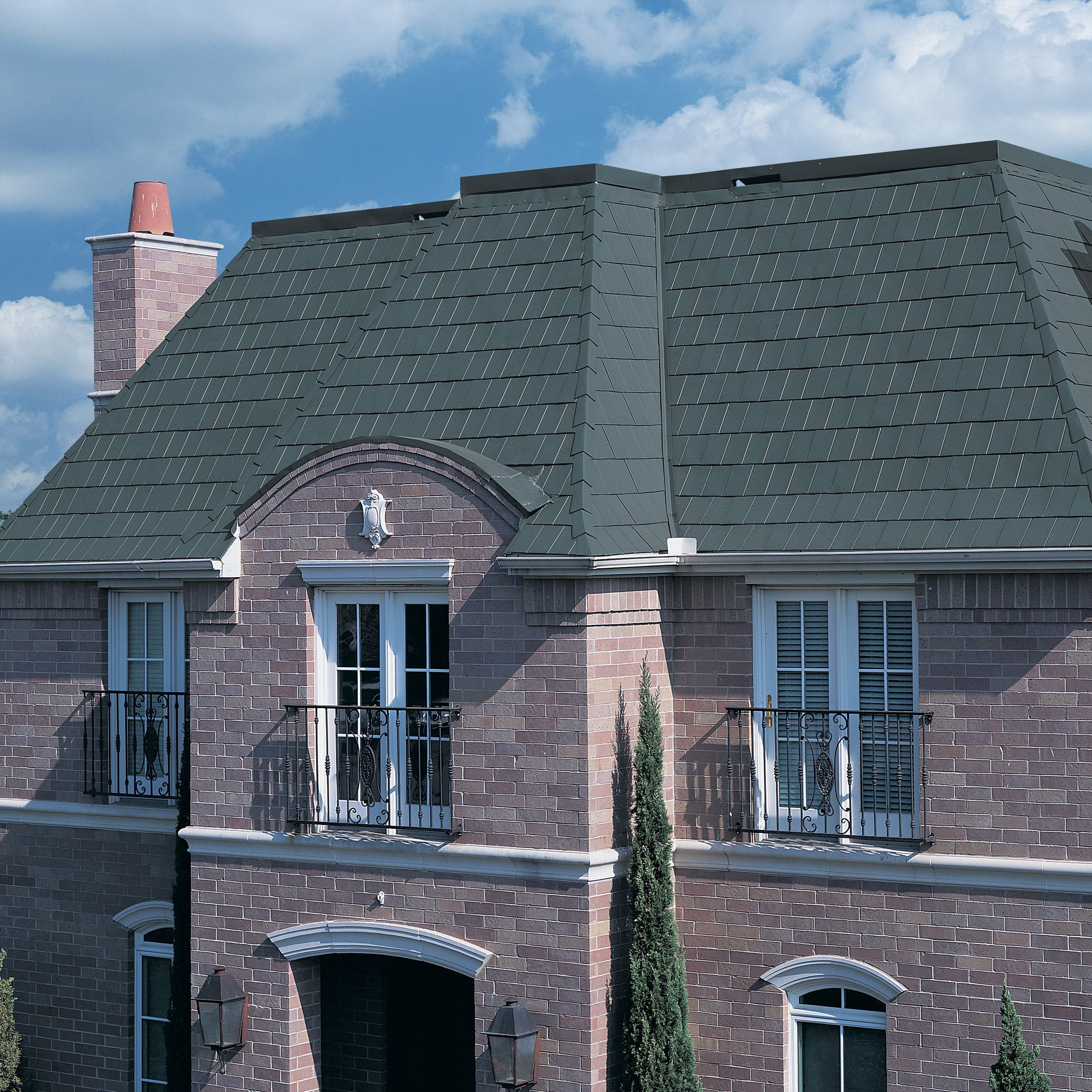 Best Metal Shingles For The Mansard Roof Option All Types Of 640 x 480