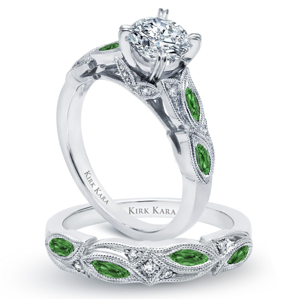 Let your love BLOOM with this beautiful engagement ring adorned