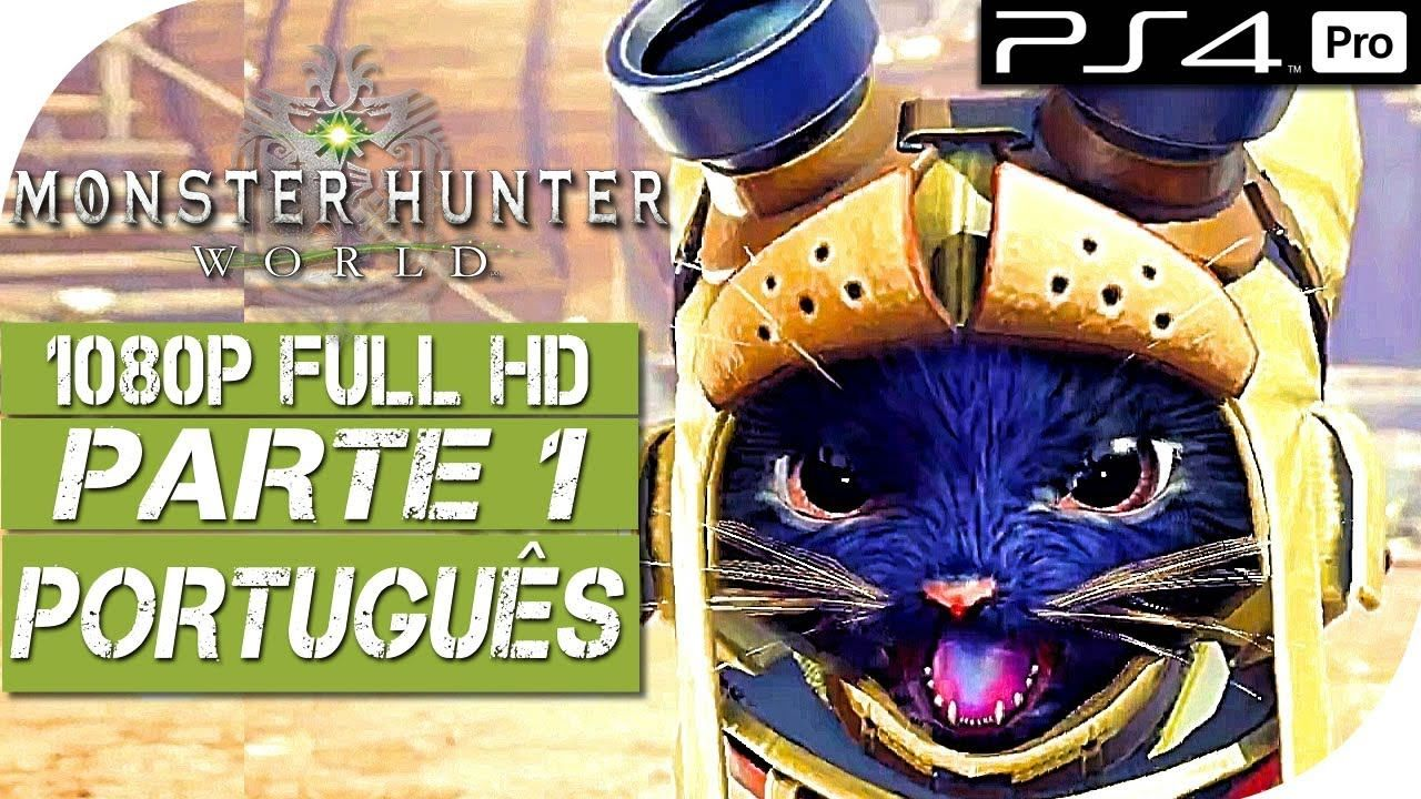 MONSTER HUNTER WORLD (Português PTBR) Gameplay