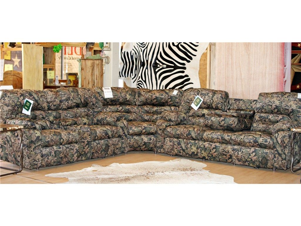 Chesterfield Sofa Camouflage couch