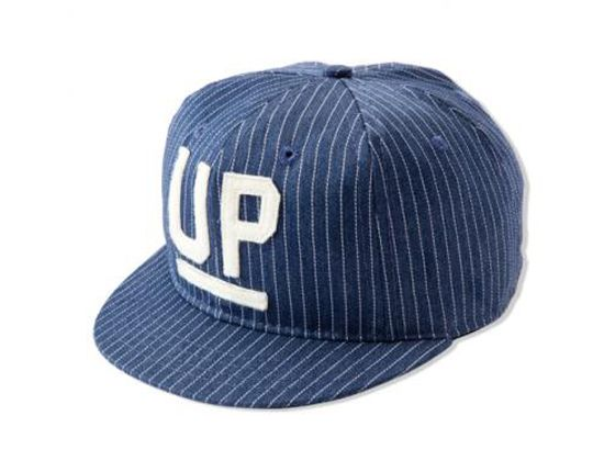 Universal Products Ebbets Field Flannels Umpire Pinstripe Fitted Cap 4