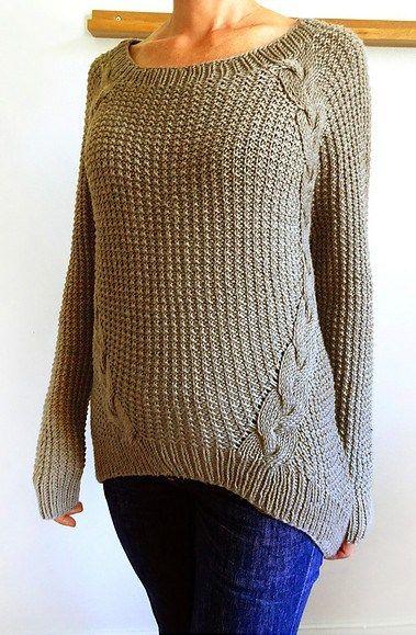 Dagmar Pullover Knitting Pattern   Sticks   Pinterest   Tejido y ...