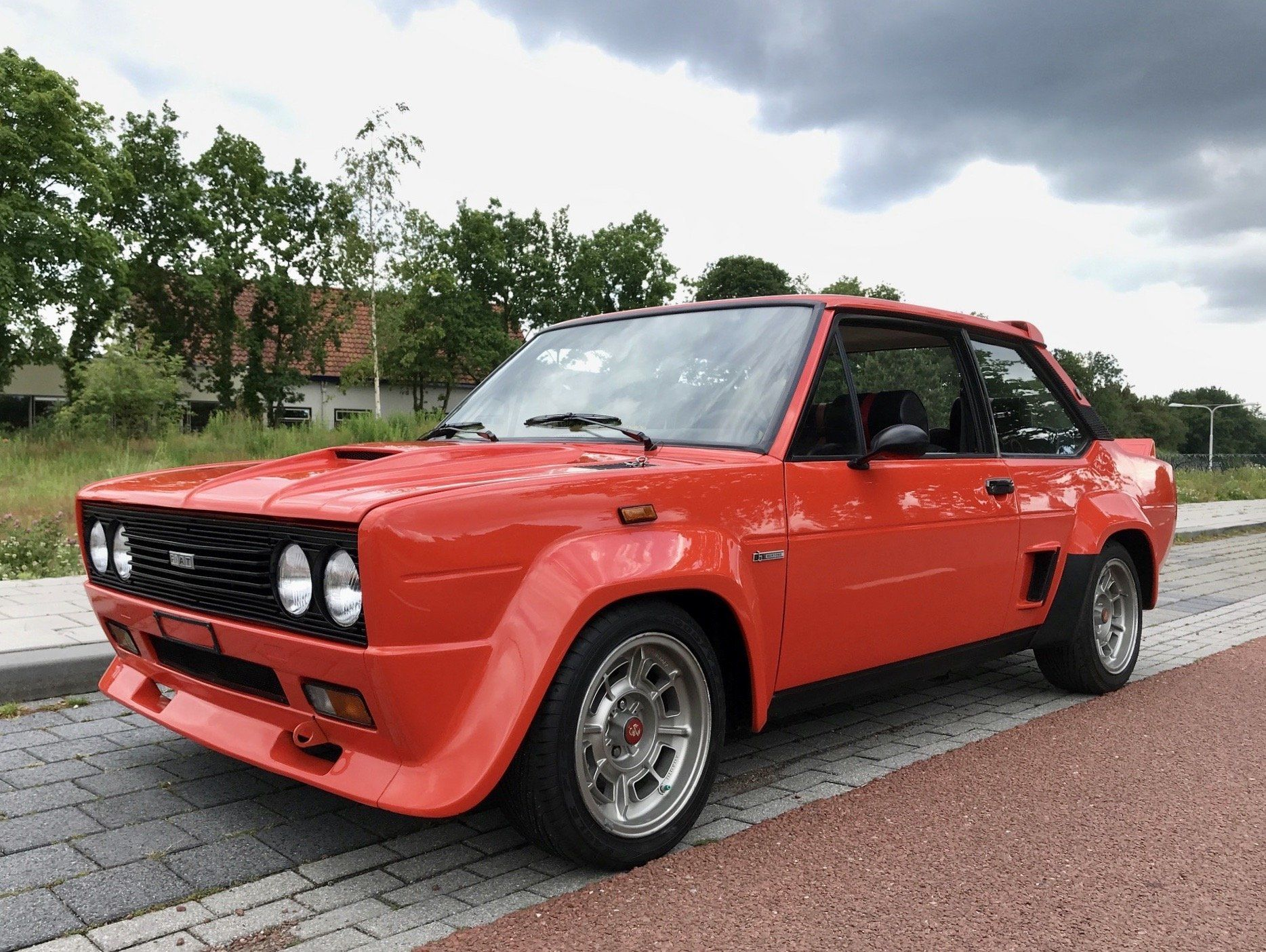 1976 Fiat 131 Abarth Rally Stradale
