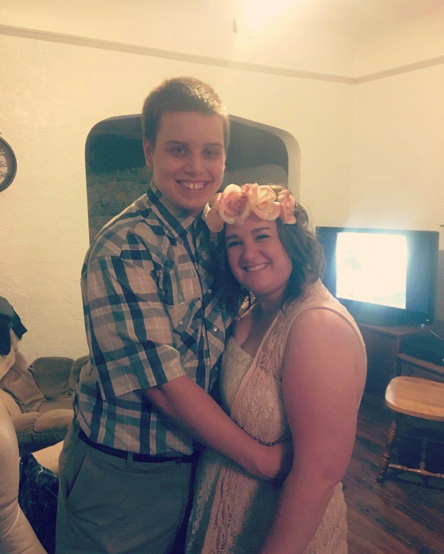 Jenny&Forrest  #couplescostume #halloween #jennyandforrest #love
