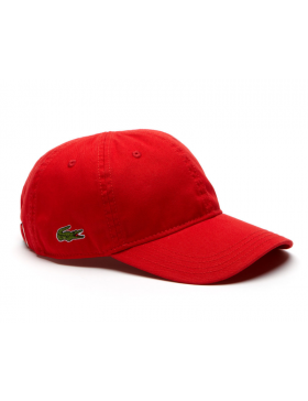 4f68aa2baa8 Lacoste pet - Gabardine cap - rouge red