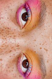 Photo of Rainbow Eye Makeup. Rainbow Eye Makeup In the shine This image has ge