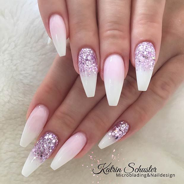 41 Chic White Acrylic Nails to Copy | Page 4 of 4 | StayGlam