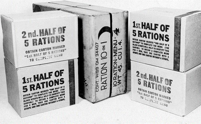 us army rations world war ii