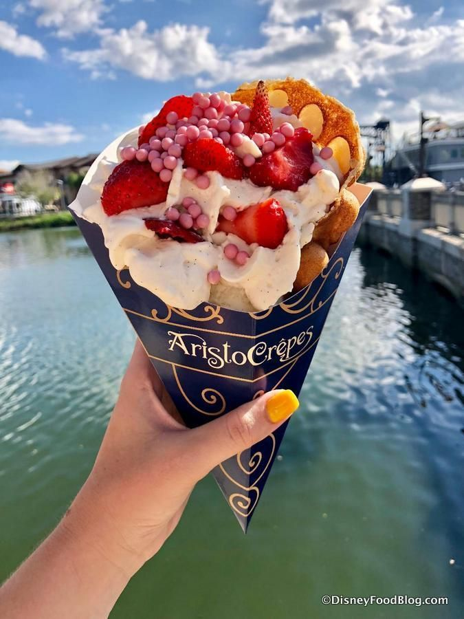 Disney World's Bubble Waffles Are A Must-Get…IF You Can Find Them!