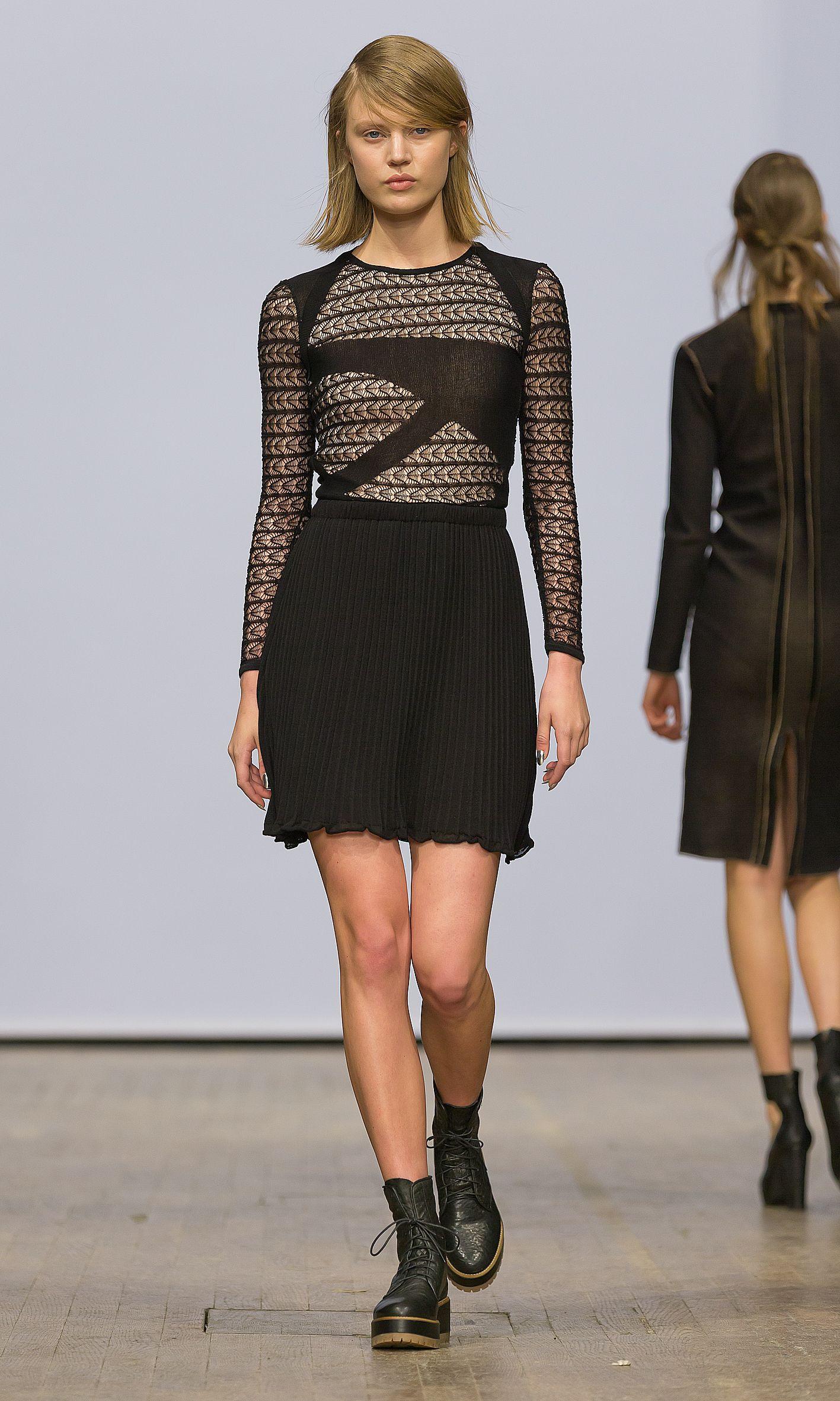 Elisa lace dress | RUNWAY AW14 | MBFW Stockholm #Dagmar ...