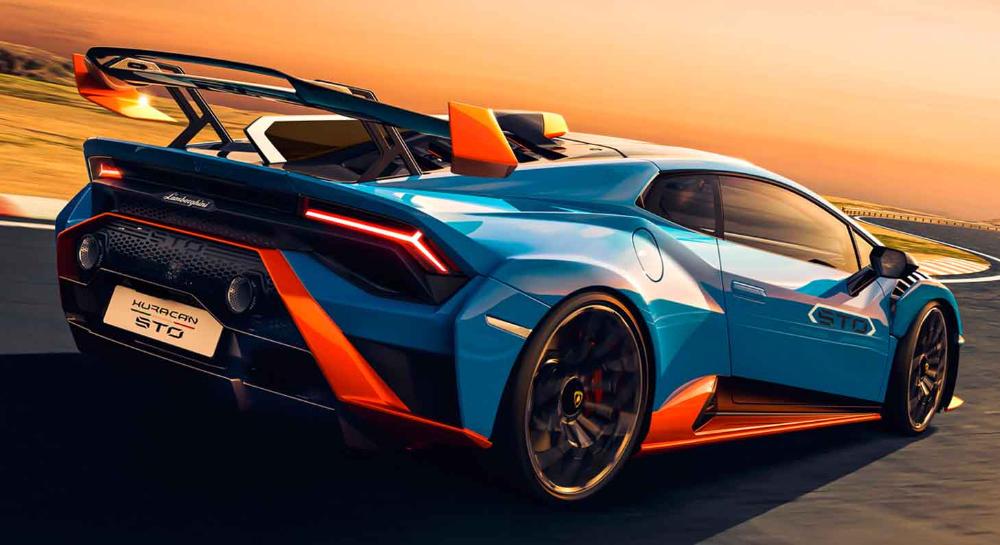 لامبورغيني هوراكان أس تي أو 2021 الجديدة تماما سيارة سباق حقيقية للطرق العامة موقع ويلز Lamborghini Sports Car Car