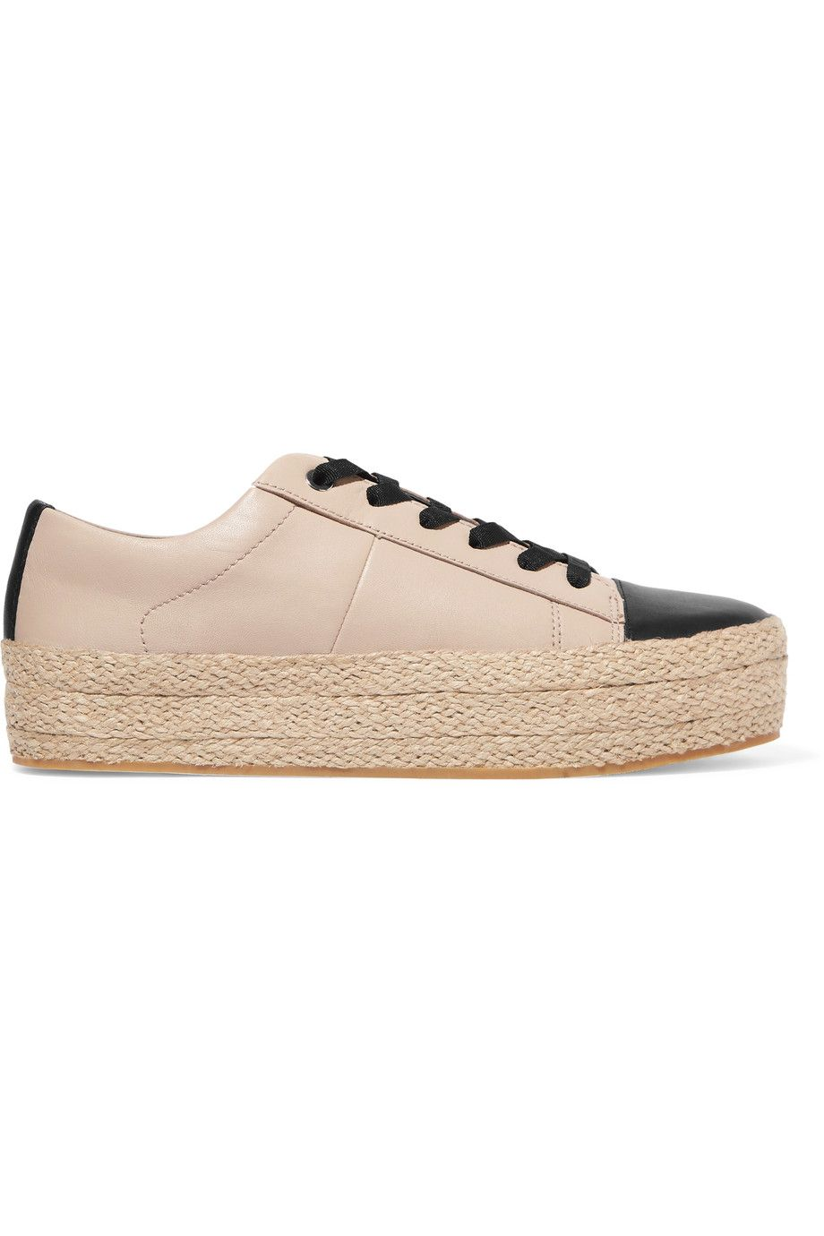 655251aa86d DKNY Bari leather platform sneakers.  dkny  shoes  sneakers