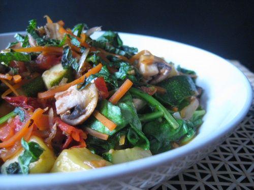 Thai #vegetable stir fry