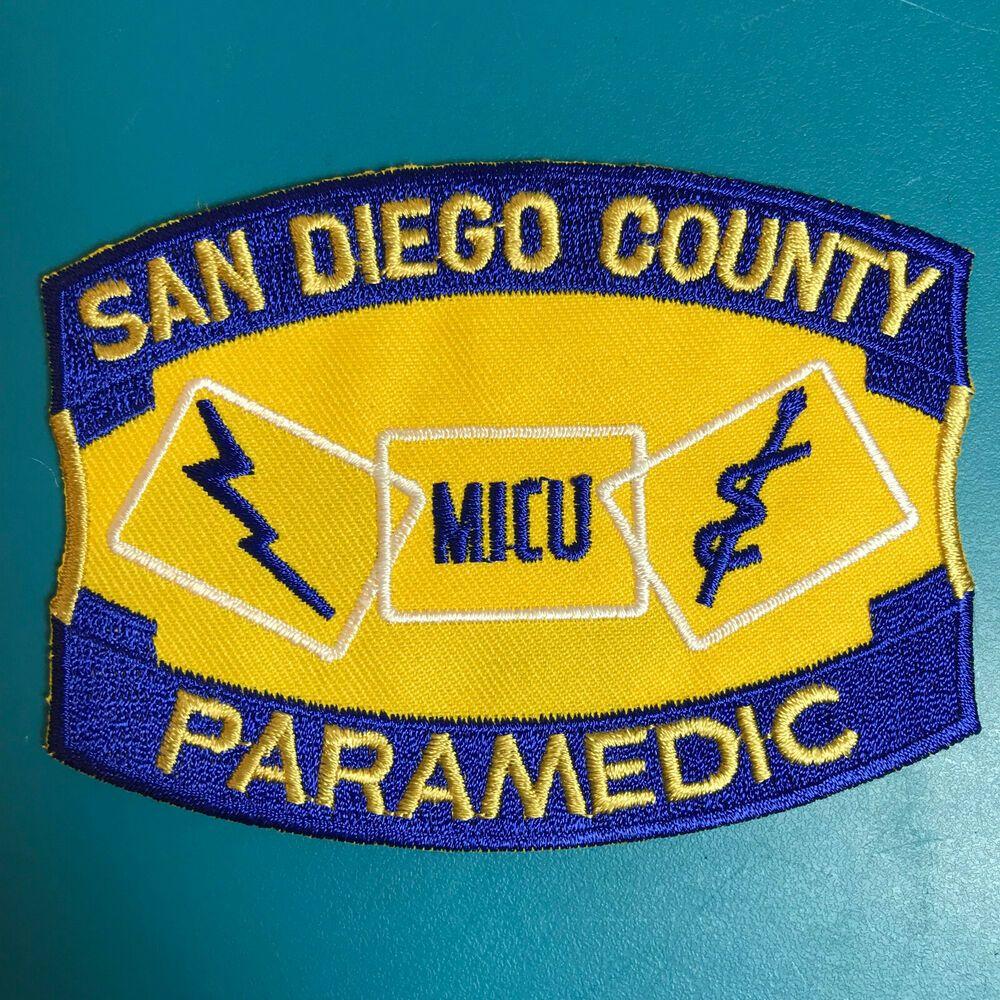 San Diego County Paramedic MICU Medical Intensive Care