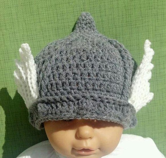 PDF Crochet PATTERN to make Thor God of Thunder Hat for Baby or ...