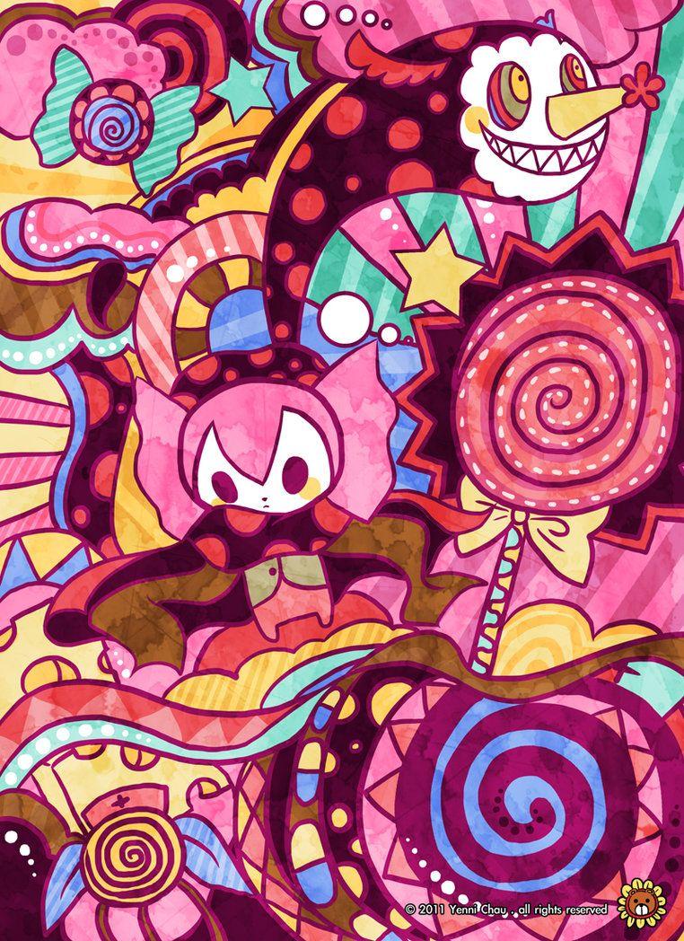 Sweet Witch By Yennichau Deviantart Com On Deviantart Witch Wallpaper Madoka Magica Modoka Magica