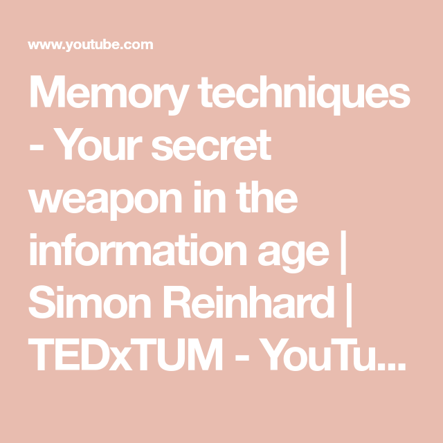 Your Secret Weapon In The Information