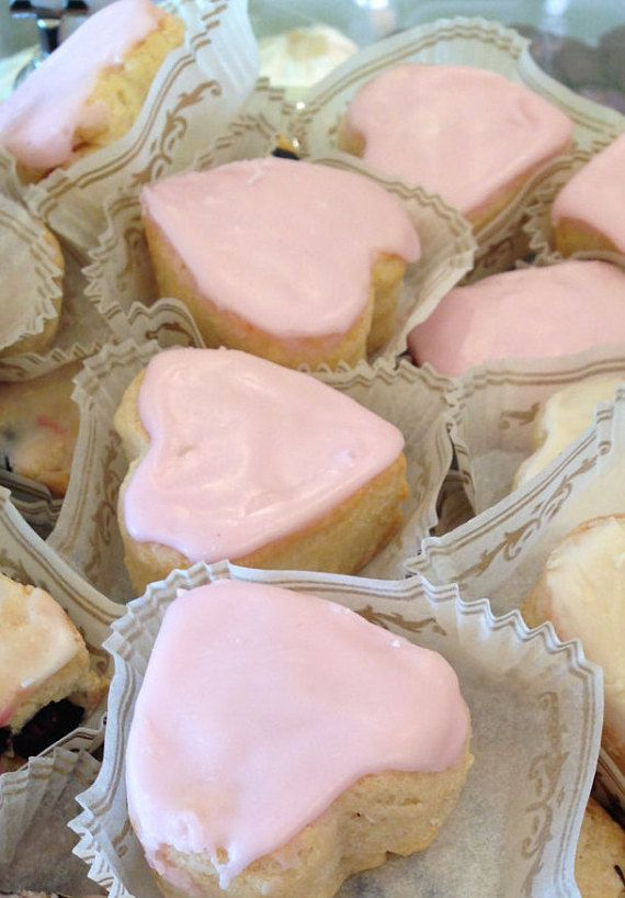 Photo of Traditional Pink French Vanilla Scone | Etsy
