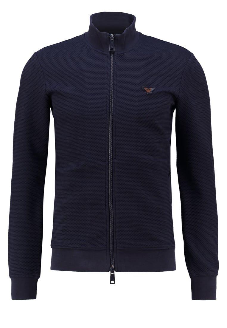 Armani Jeans Sweatjakke /Træningstrøjer - dark blue
