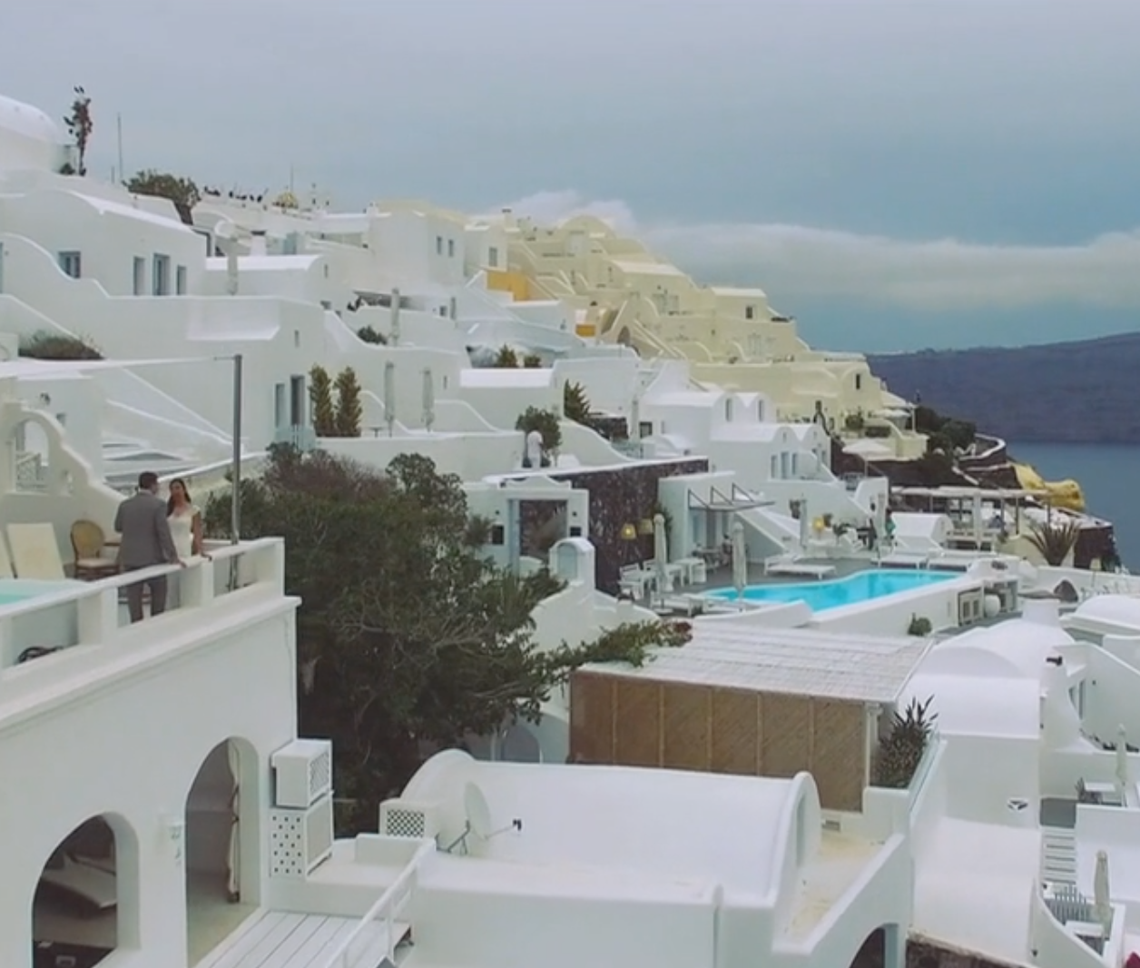 Real Greek Weddings: Santorini, Greece Wedding