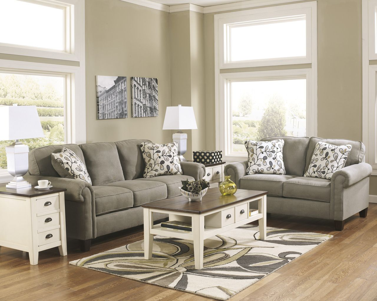 Gusti Dusk Sofa And Loveseat | Marjen Of Chicago | Chicago Discount  Furniture