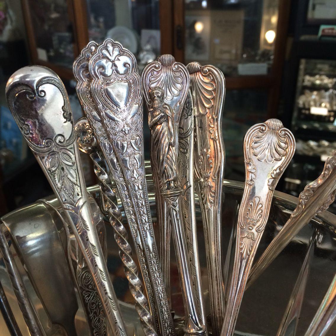Love vintage silver, the details!!!