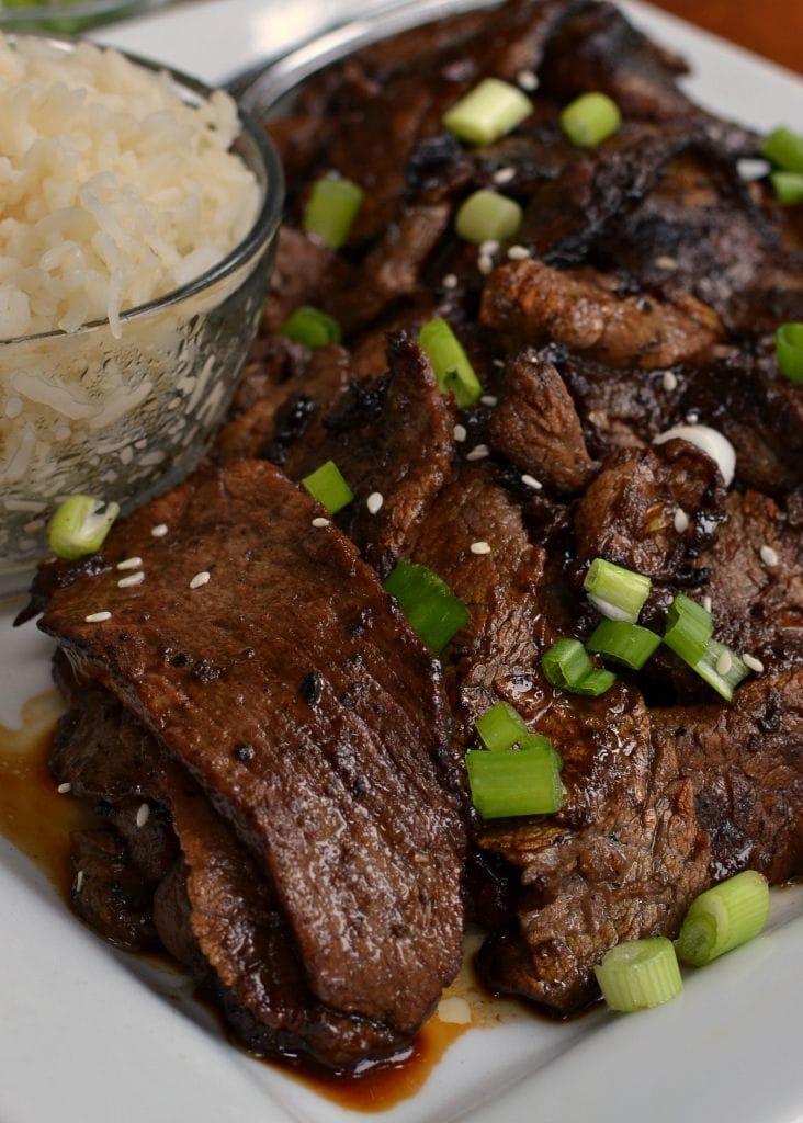Beef Bulgogi (Korean Beef) | Recipe | Bulgogi, Bulgogi ...