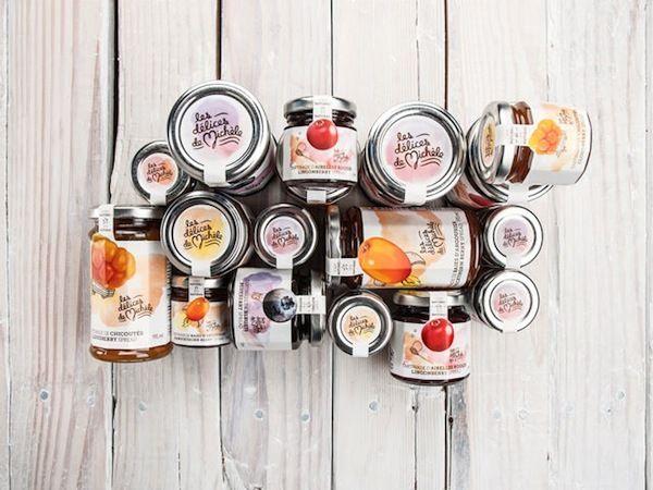 Délices de Michèle - Brand Identity & Packagings by Chez Valois, via Behance