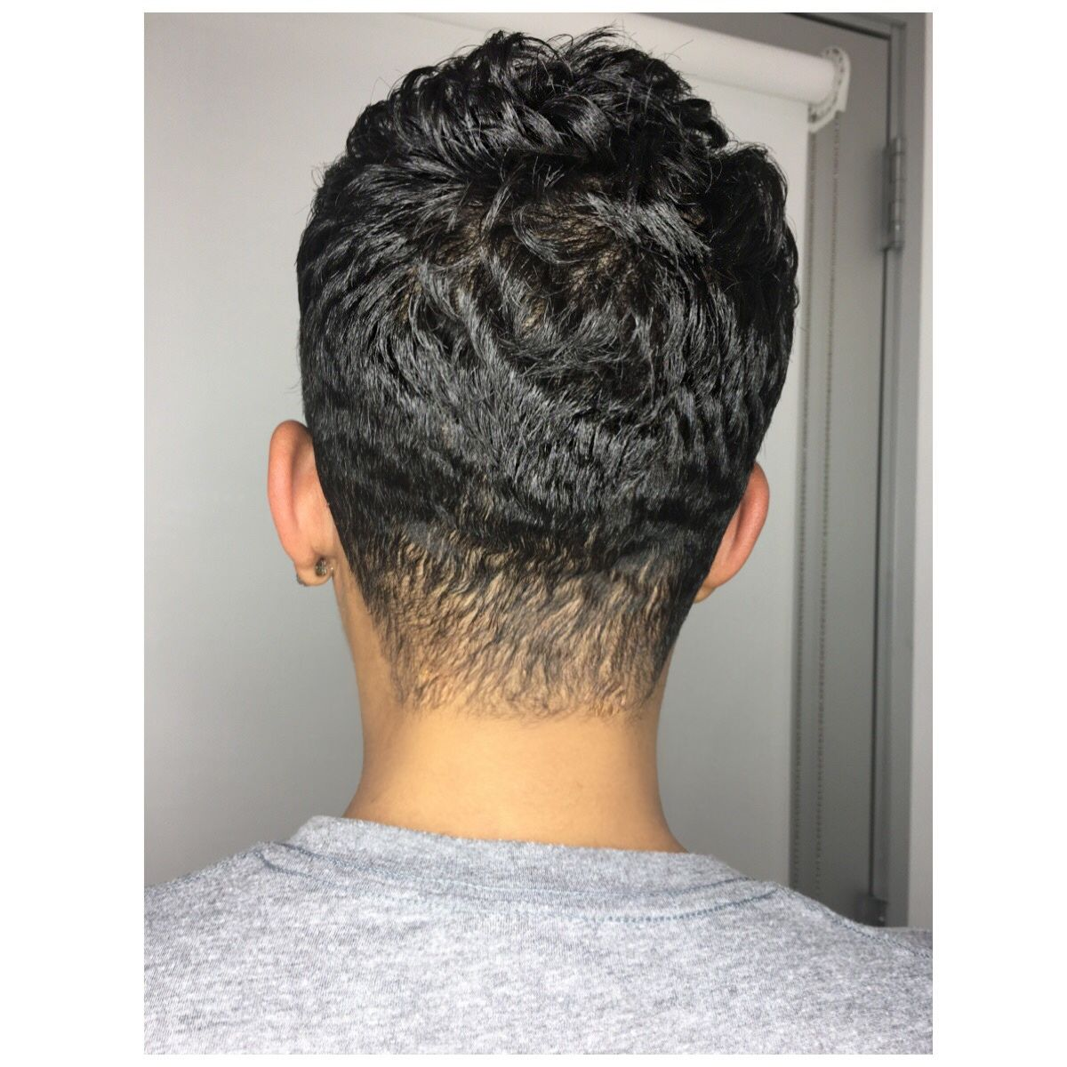 From the back cut it out short hair style pinterest short