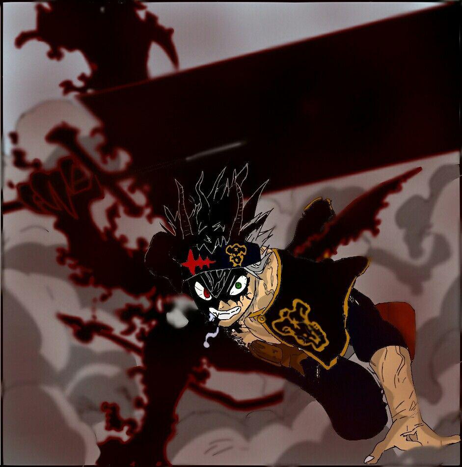 Asta Descontrolado Clover Black Demon
