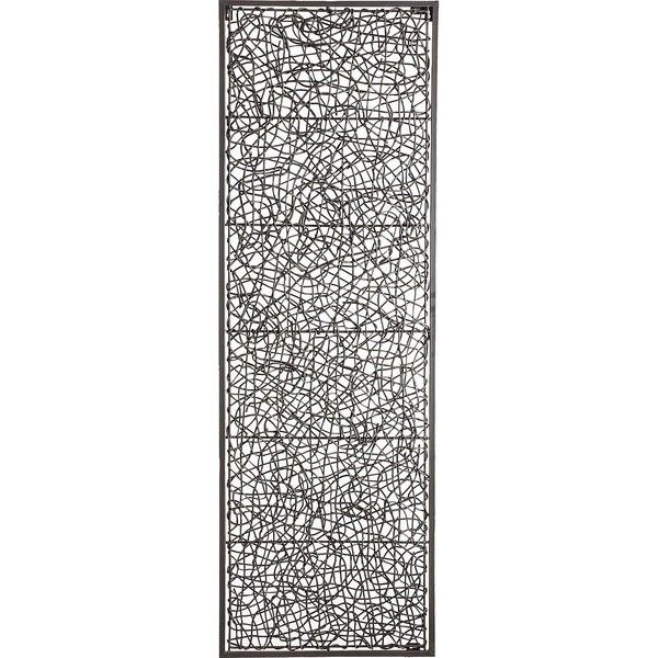 Pier 1 Imports Metal & Rattan Wall Decor ($60) ❤ liked on Polyvore ...