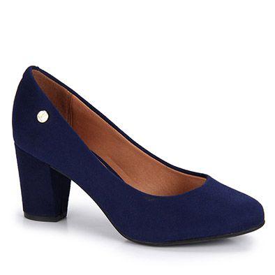 9b33776920 Sapato Salto Feminino Vizzano - Marinho