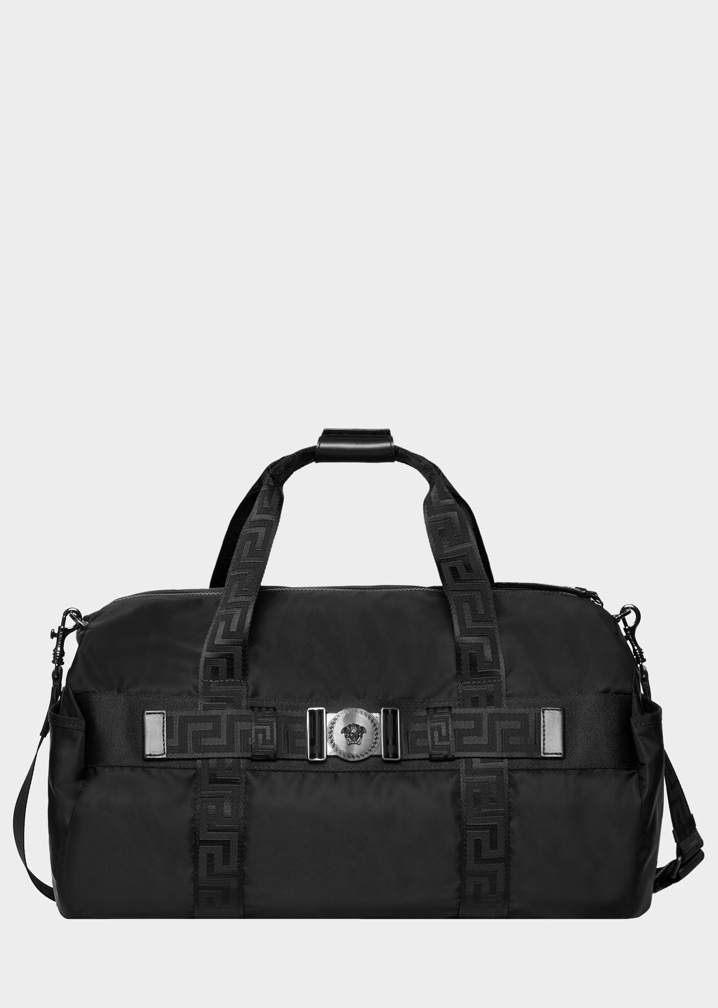 620dd9b2bbff VERSACE Greca Ribbon Gym Bag.  versace  bags  shoulder bags  hand bags