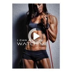 Get motivated or motivate others. Perfect poster for your gym, room or any workout area. #fitness #f...
