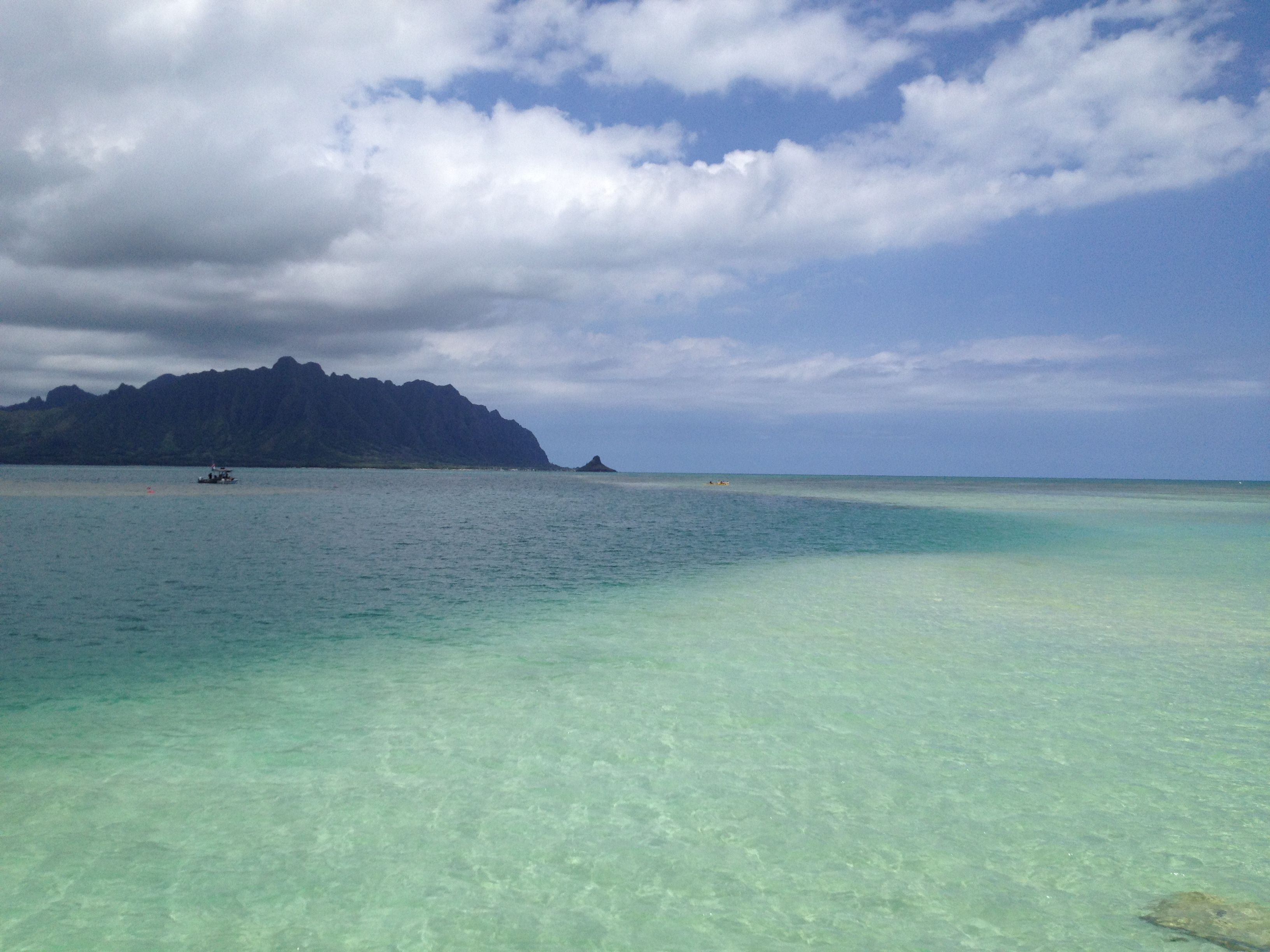 View Kaneohe Bay Sandbar Oahu Hawaii