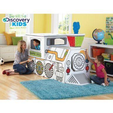 Amazon.com: Discovery Kids Cardboard Train: Toys & Games