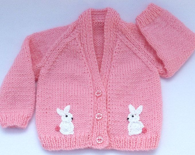 Baby sweater. Baby girl hand knitted sugar pink bolero cardigan to ...