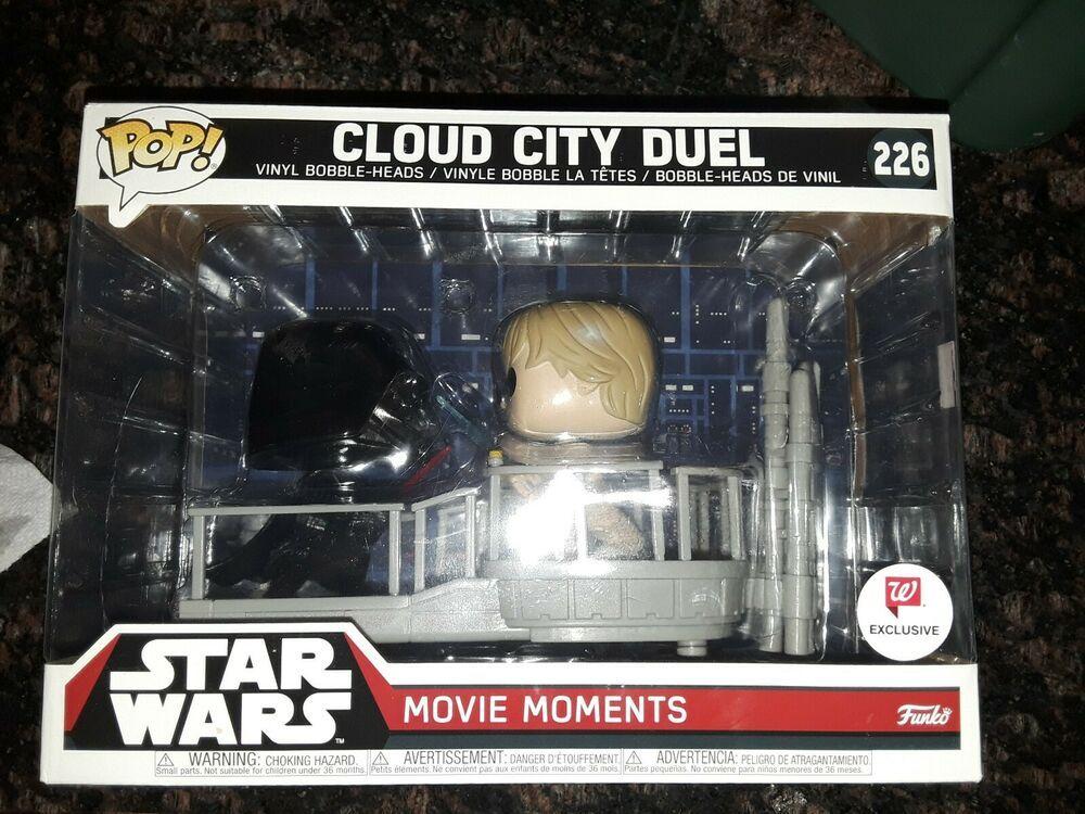 Star Wars Darth Vader /& Luke Cloud City Duel POP Movie Moments #226 Vinyl Figure