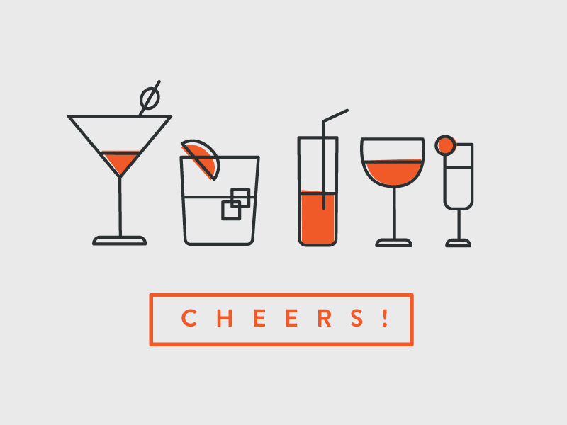 Drink Icons Drink Icon Drinks Logo Graphic Design Inspiration