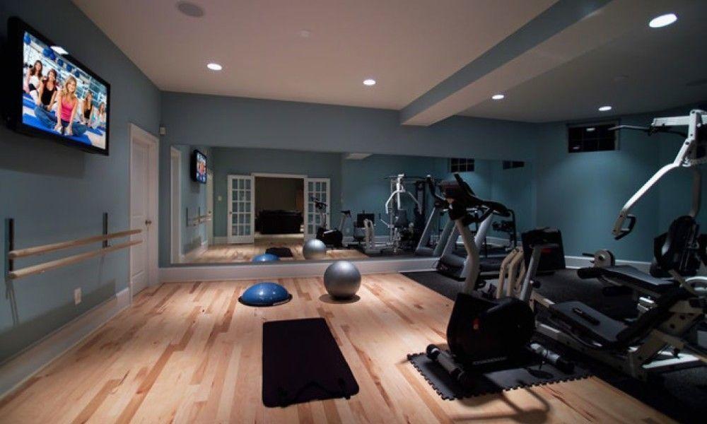 Modern home gym design valo i