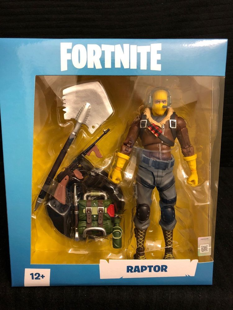 Fortnite Raptor 7 Inch Action Figure By Mcfarlane In Hand Ships