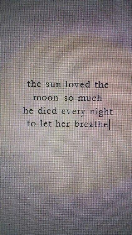 el sol y la luna <3