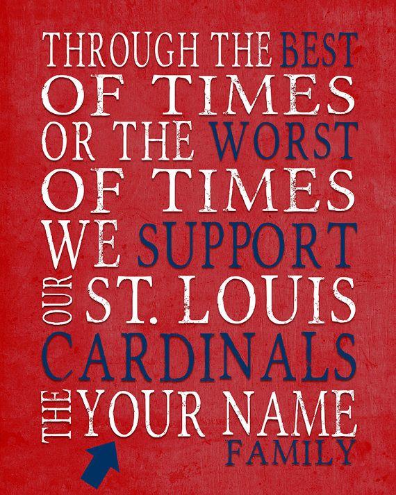 St. Louis Cardinals Art Printable DIGITAL by ParodyArtPrints