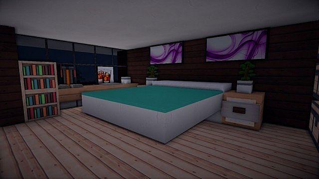 Prologue Modern House Minecraft Modern Minecraft Bedroom Minecraft House Designs