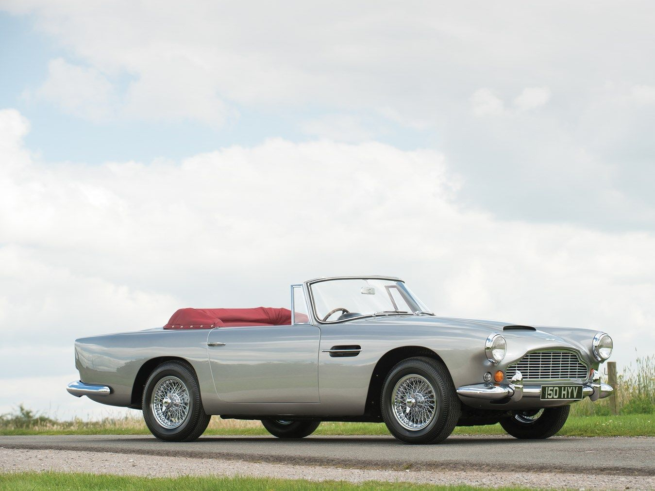 1963 Aston Martin DB4 Series V Convertible - One of the rarest Aston ...