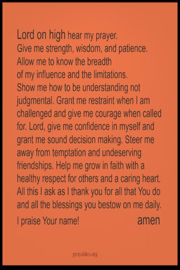 Amen! http://prayables.org/ prayers blessings inspirational quotes bible scripture & more at Prayables
