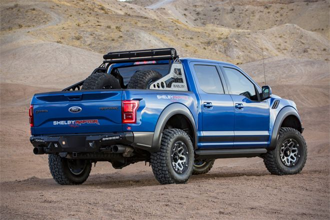 The 2018 Shelby Baja Raptor Is A 525hp Animal Built To Conquer The