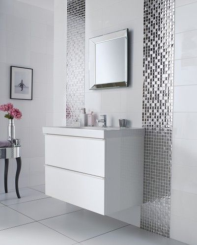 White Bathroom Tiles Uk Ideas Design Inspiration Washrooms
