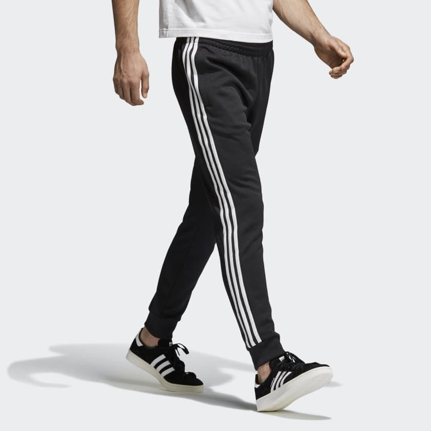 adidas SST Track Pants   Track pants mens, Pants, Black pants